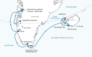 groenland route